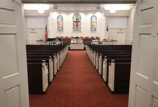 After more than two years, Colquitt UMC returns home
